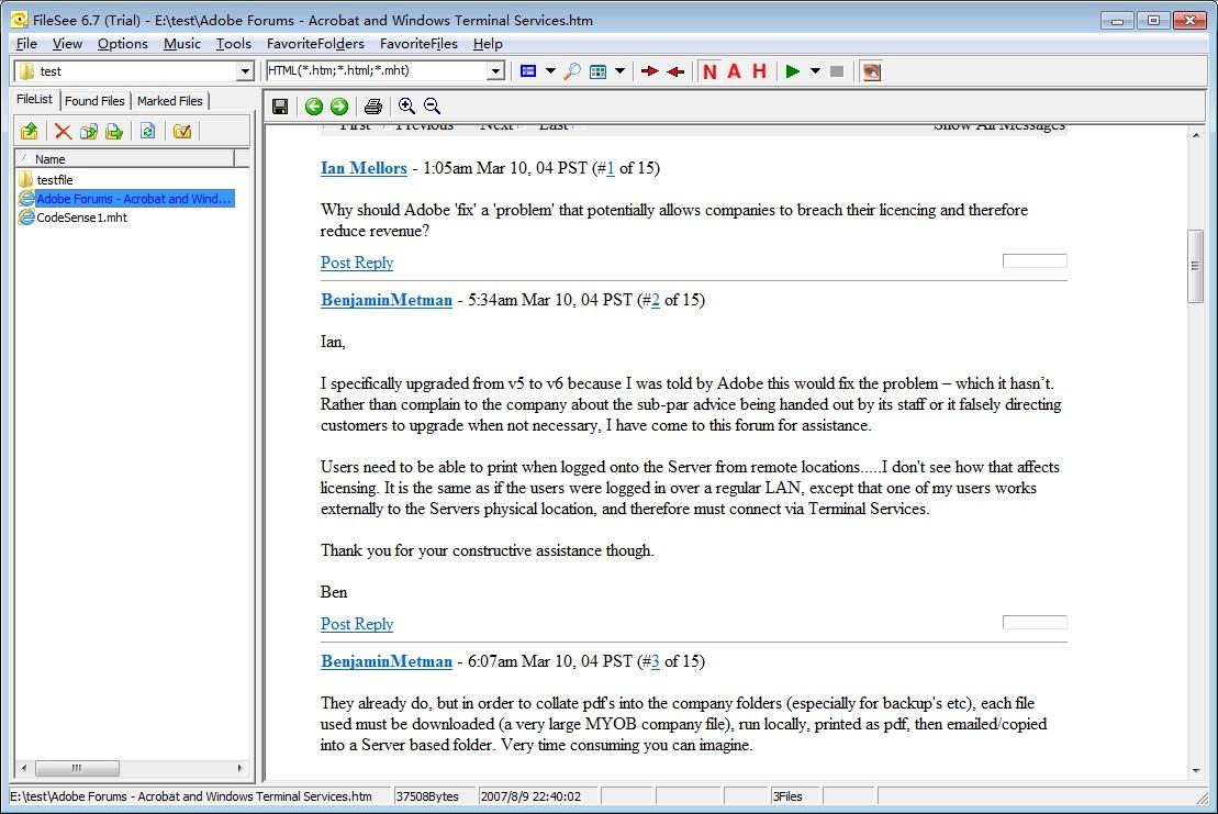 FileSee 6.25 Ekran Görüntüleri - 2